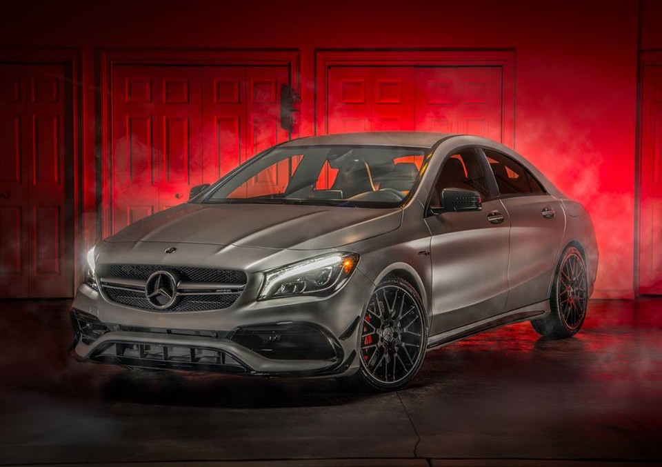 Monsters' dynasty on Halloween – Mercedes-AMG CLA 45