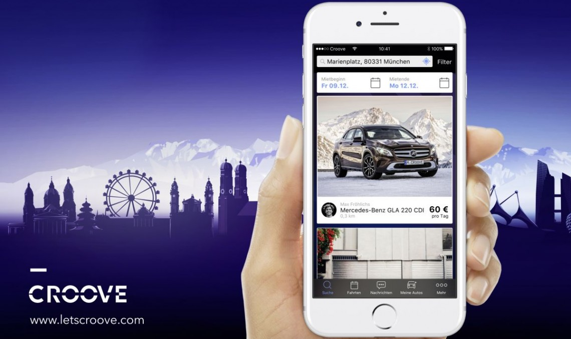 Croove: Mercedes launches car sharing platform in Munich