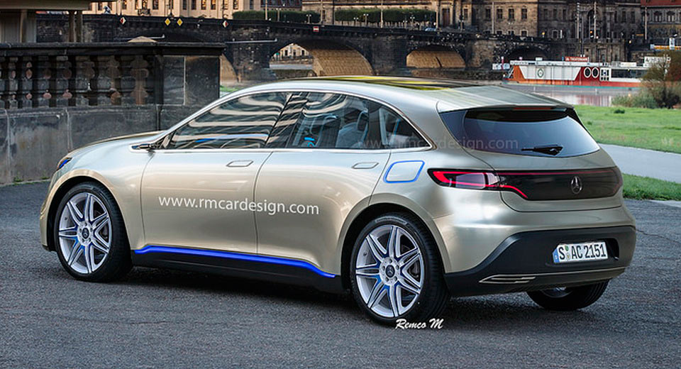 What if the first Mercedes-EQ electric car was a hatch?