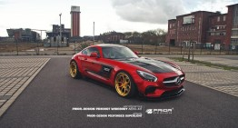 The red bullet – Yet another custom-made Mercedes-AMG GT S by Prior Design