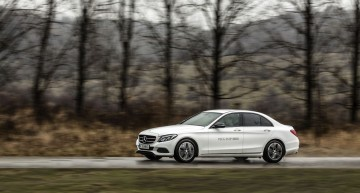 Mercedes-Benz C 350 e review: Electrifying luxury