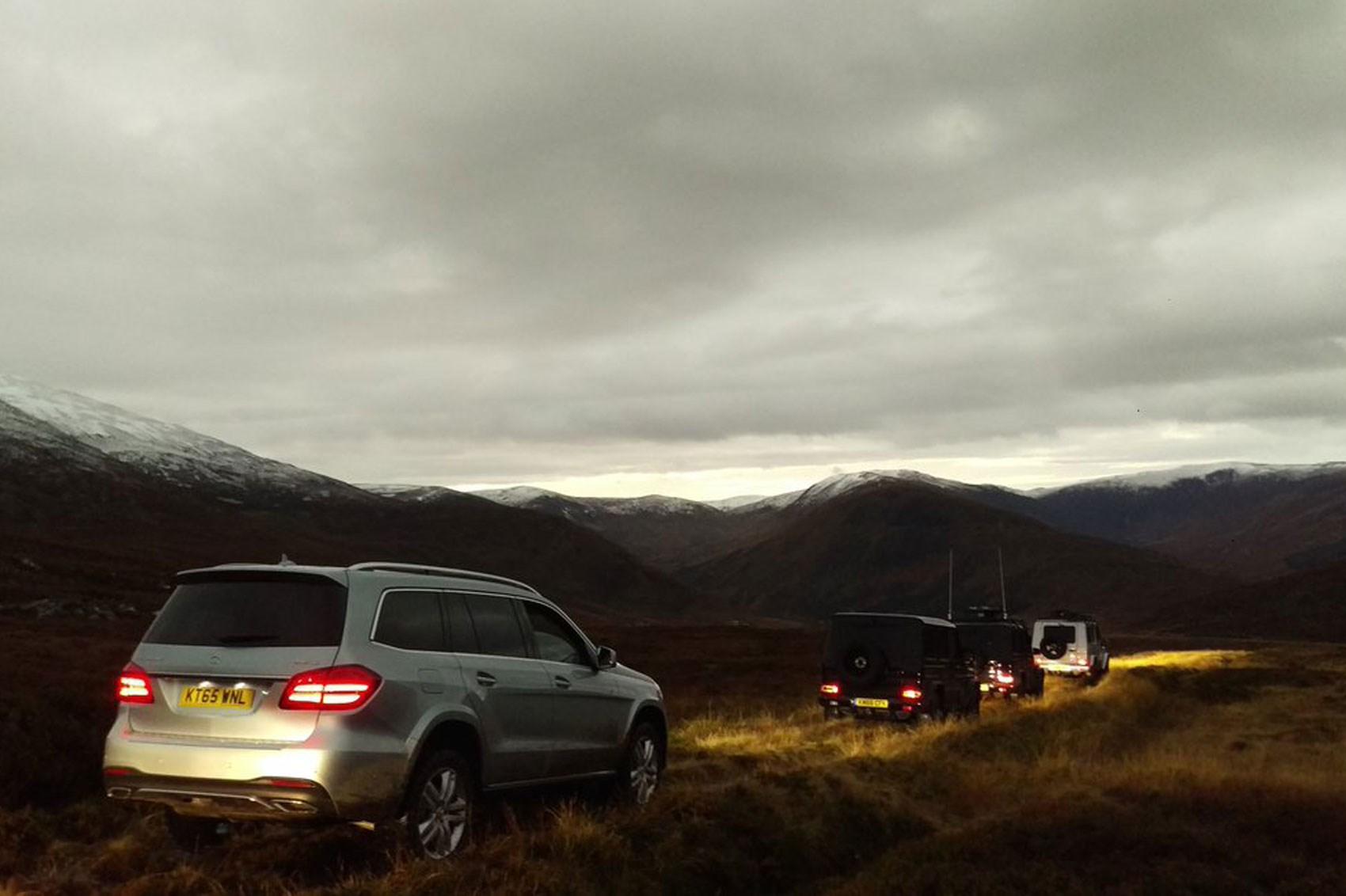 Mercedes-Benz GLS off-road