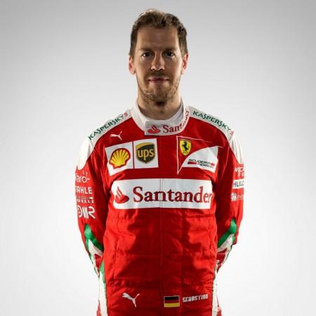 Mercedes driver Sebastian Vettel