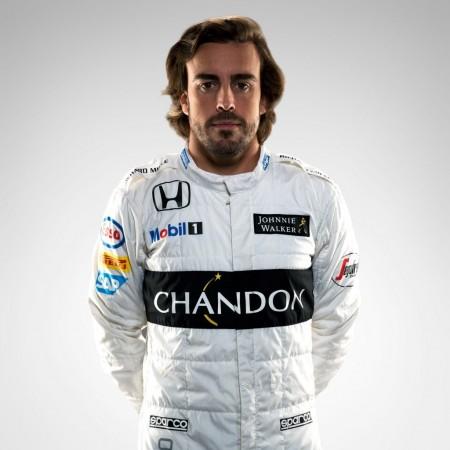 Fernando Alonso Mercedes driver