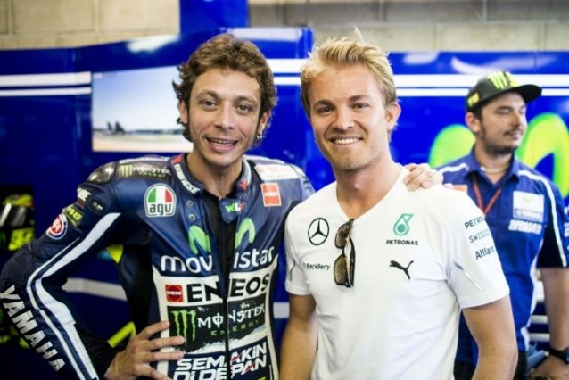 Crazy rumour surfaces: Valentino Rossi to replace Nico Rosberg at Mercedes