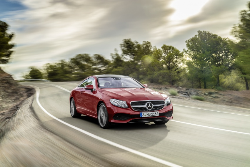 The Mercedes-Benz E-Class Coupe first trailer