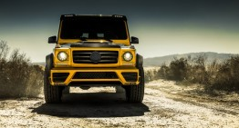 King of the desert – Mercedes-Benz G-Class with a Mansory wide-body kit