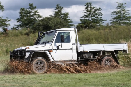 Mercedes-Benz G-Class pick-up truck (3)