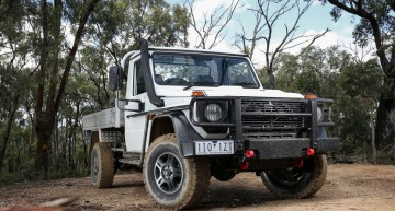 Coming home – Mercedes-Benz G-Class pick-up truck in Australia