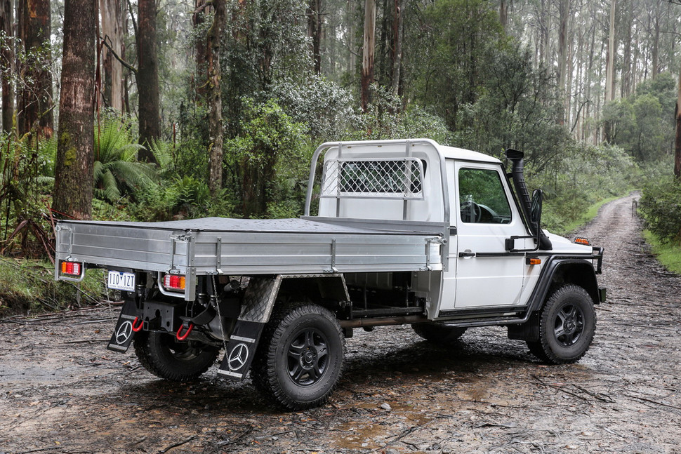 coming home mercedes benz g class pick up truck in australia mercedesblog. Black Bedroom Furniture Sets. Home Design Ideas