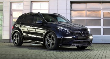 Mercedes-Benz GLE Guard Inferno – Danger makes no sense
