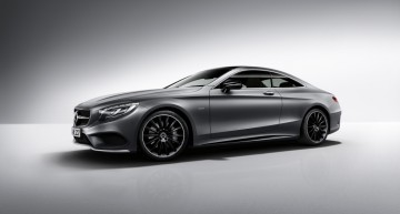 The Dark Knight – Mercedes-Benz S-Class Coupe Night Edition