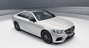Mercedes E-Class Coupe Edition 1 launch model limited to 555 units