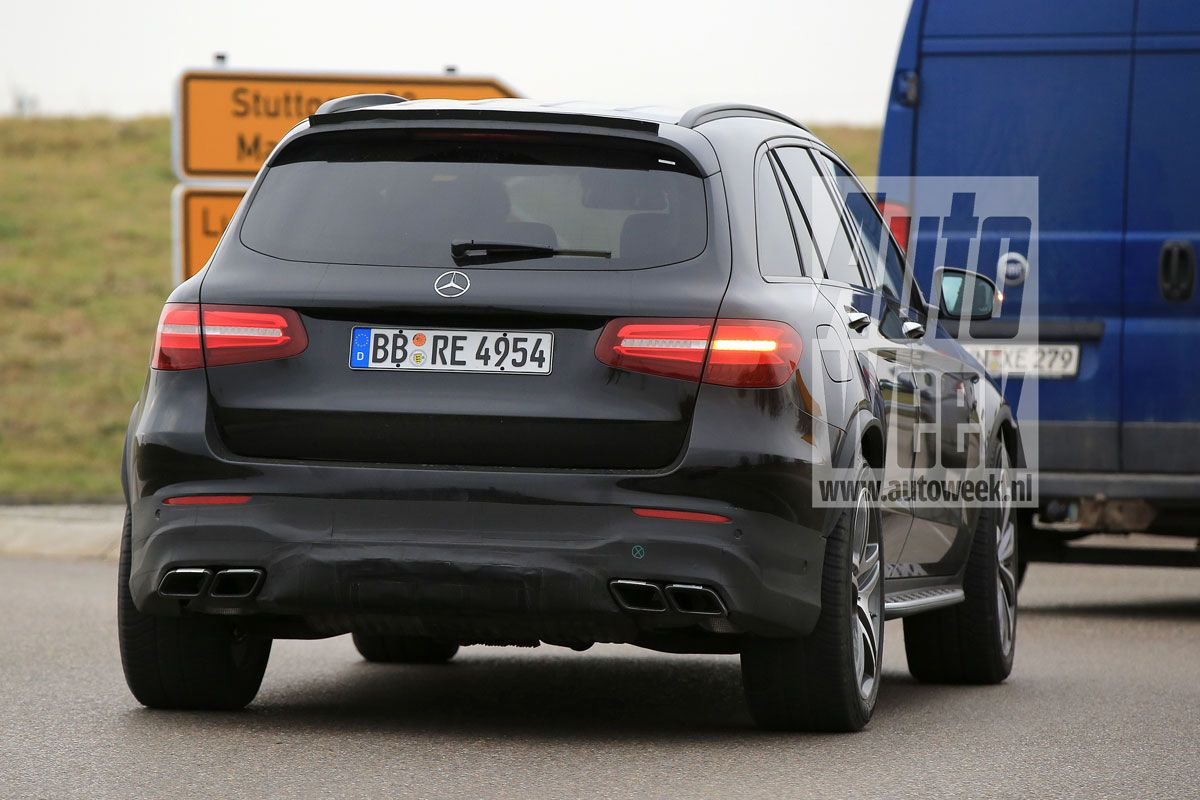 Mercedes Amg Glc 63 Revealed In The Clearest Spy Pictures
