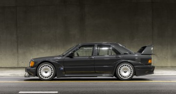 1990 Mercedes 190 E Evo II still has what it takes to give you the chills