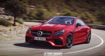 How would a hotter Mercedes-AMG E 63 Coupe look like?