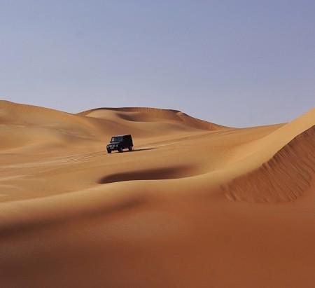 G-Class dune bashing in Oman (4)