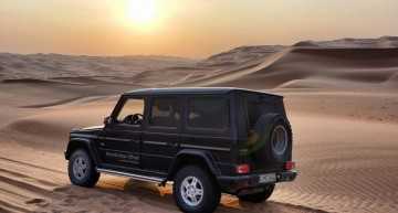 The ultimate experience – Dune bashing in a G-Class