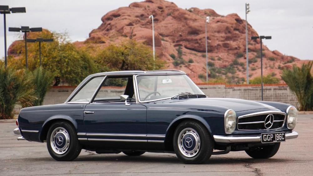 """Baby, you can drive my car"" – John Lennon's Mercedes for sale for a fortune"