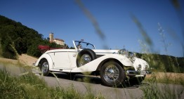 In the footsteps of Mark Twain, in a Mercedes-Benz 540 K