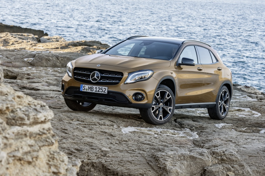Fit as a fiddle – First trailer of the new Mercedes-Benz GLA