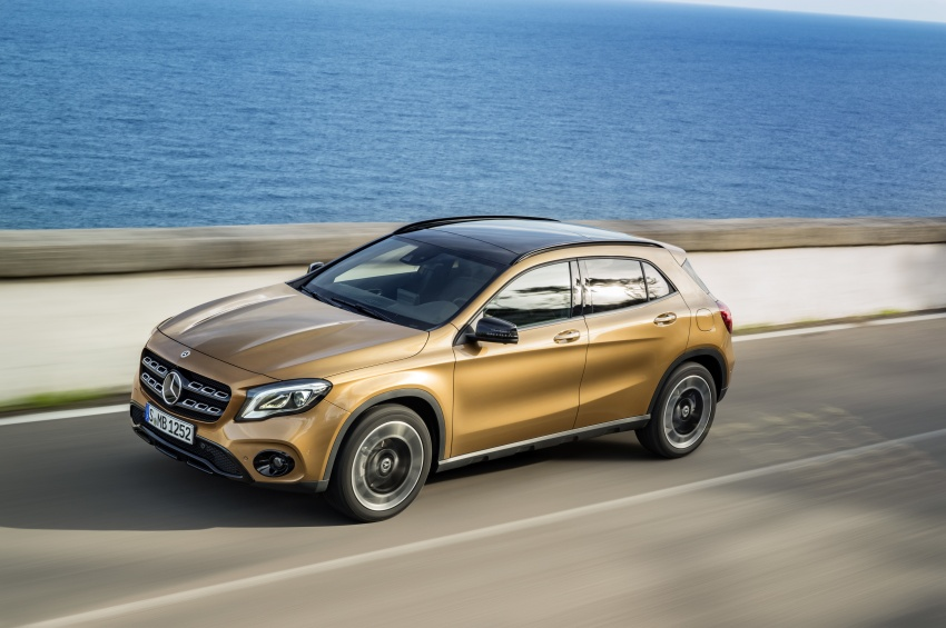 Mr. Personality! The Mercedes-Benz GLA facelift is here!
