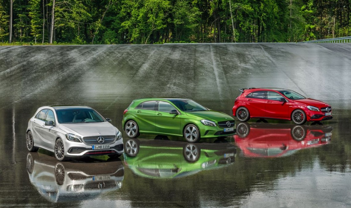 Mercedes-Benz extends compact range with new variants
