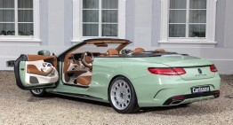 Diospyros: Carlsson works its magic on gorgeous S-Class Convertible
