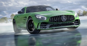 Mercedes-AMG GT R stars in Forza Horizon 3 game – Snow Drift Challenge