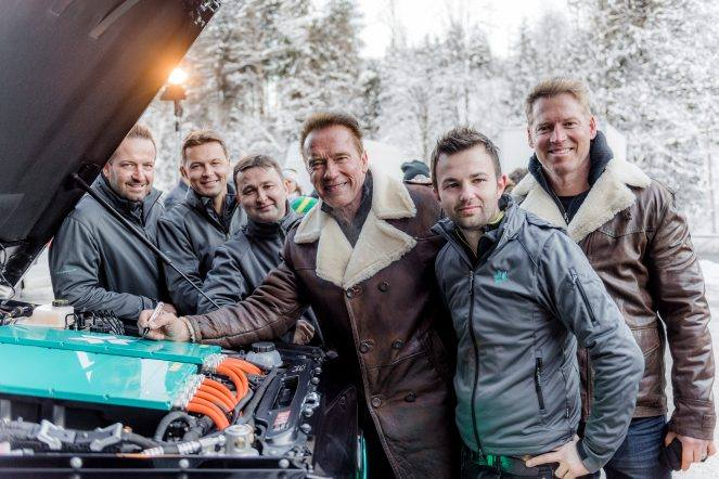 Kreisel Electric Mercedes G-Class for Arnold Schwarzenegger
