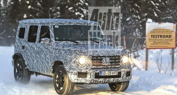 ALL-NEW Mercedes-Benz G-Class shows its face for the first time