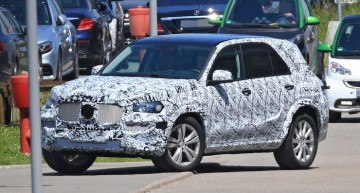 All-new Mercedes GLE coming next year – latest spy pictures