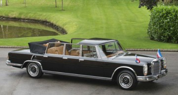 History for sale – Tito's presidential Mercedes-Benz 600 Pullman Laundelet is on the market