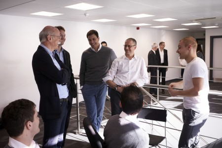 Dr. Dieter Zetsche Visits Brackley & Brixworth