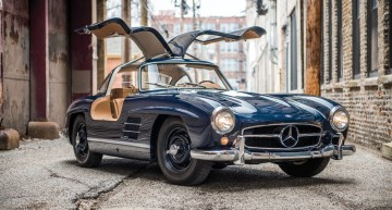Beauty for sale – This 1955 Mercedes-Benz 300 SL Gullwing goes under hammer