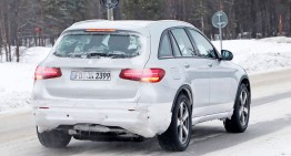 Mercedes-EQ out to play in the snow, testing in disquise