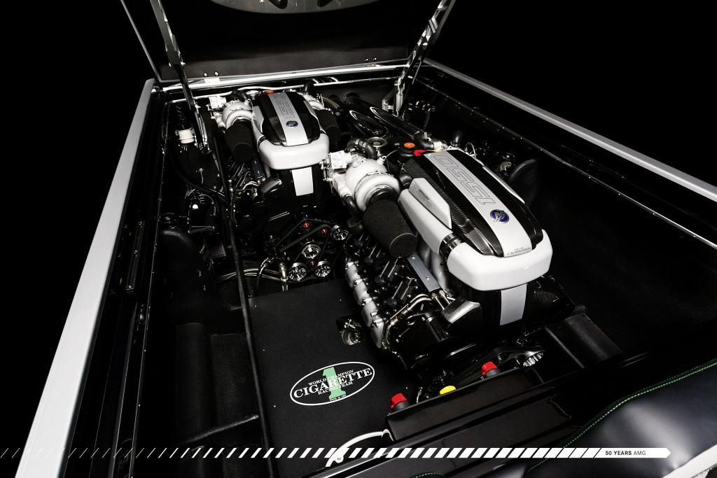 """Miami International Boat Show: Zehn Jahre Kooperation Mercedes-AMG und Cigarette Racing: Premiere für das Rennboot """"2017 50' Marauder AMG"""" - inspiriert vom Mercedes-AMG GT R"""