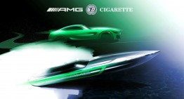 Mercedes-AMG GT R turns into new Cigarette Racing boat