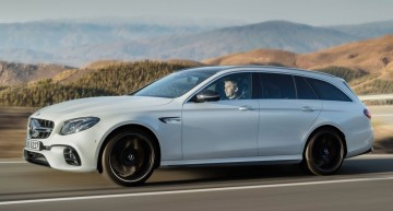 MERCEDES-AMG E 63 T-MODELL: 612 hp family fighter-jet