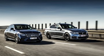 Point of Convergence: Mercedes E 400 4Matic versus BMW 540i xDrive