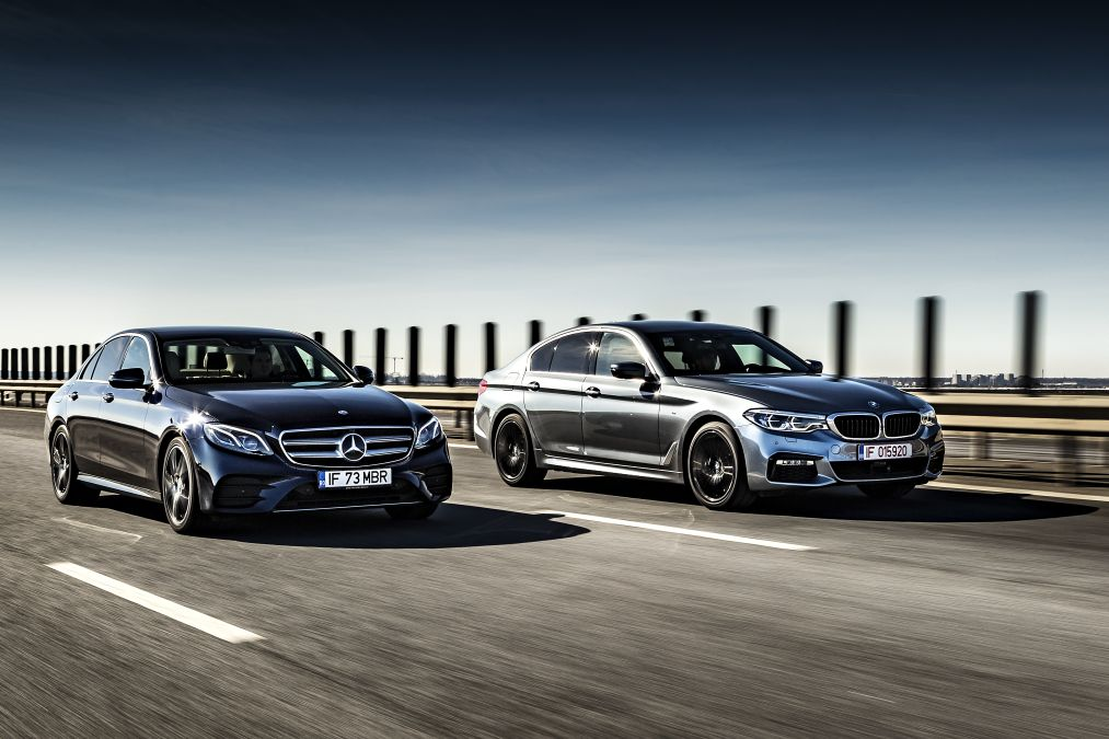 Point Of Convergence Mercedes E 400 4matic Vs Bmw 540i Xdrive Exclusive Test Mercedesblog