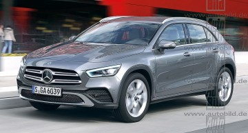 All-new Mercedes GLA grows up, goes electric