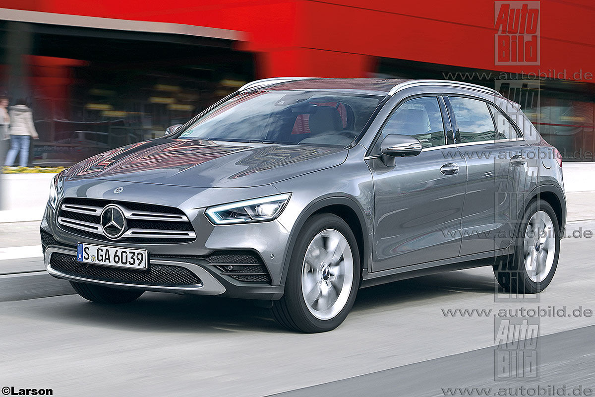 All new mercedes gla grows up goes electric mercedesblog for New mercedes benz gla