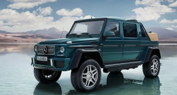Mercedes-Maybach G 650 Landaulet: Most exotic cabrio