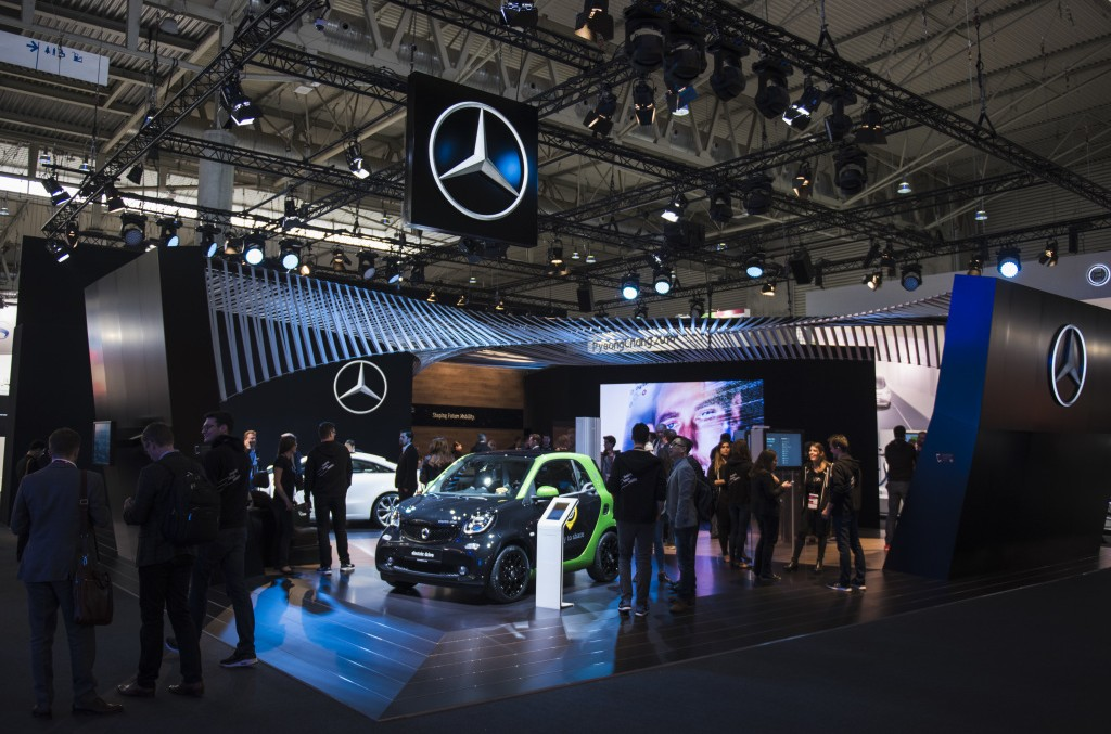 Mercedes-Benz at the Mobile World Congress MWC 2017