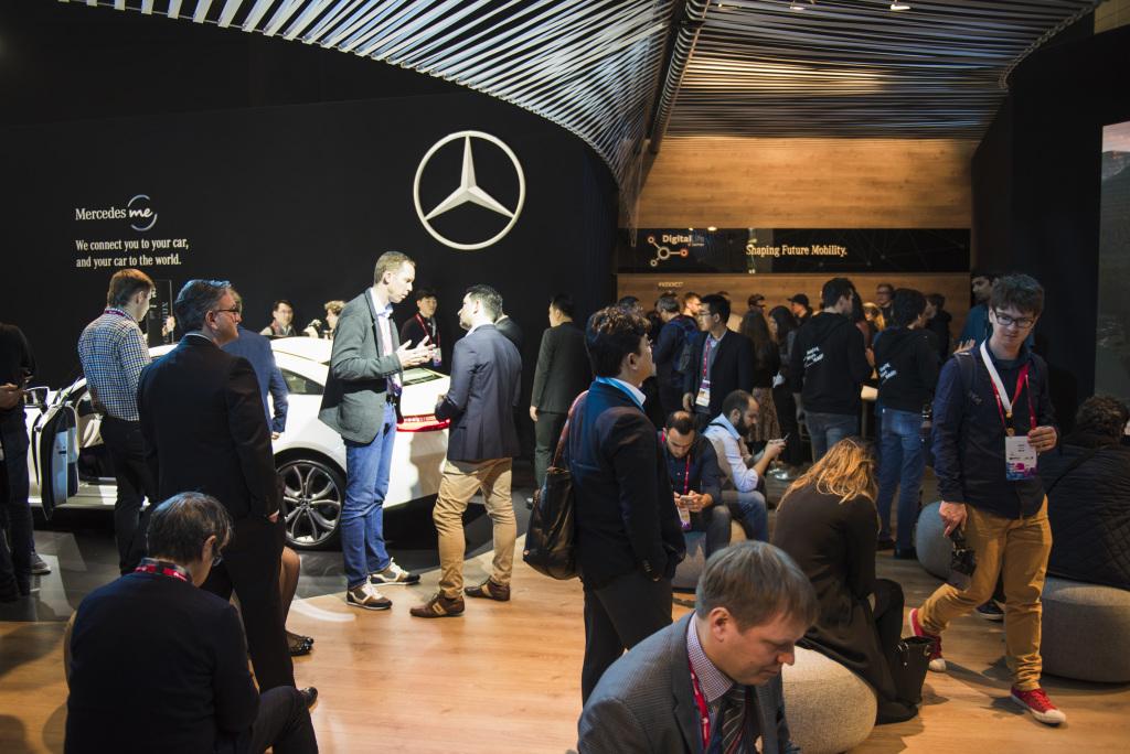 Mercedes-Benz auf dem Mobile World Congress 2017: Digitalisierung als Stellhebel für die Zukunft der Mobilität