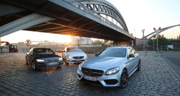 Business sedans with 350 hp +: Mercedes-AMG C 43 vs. Audi S4, Volvo S60 Polestar