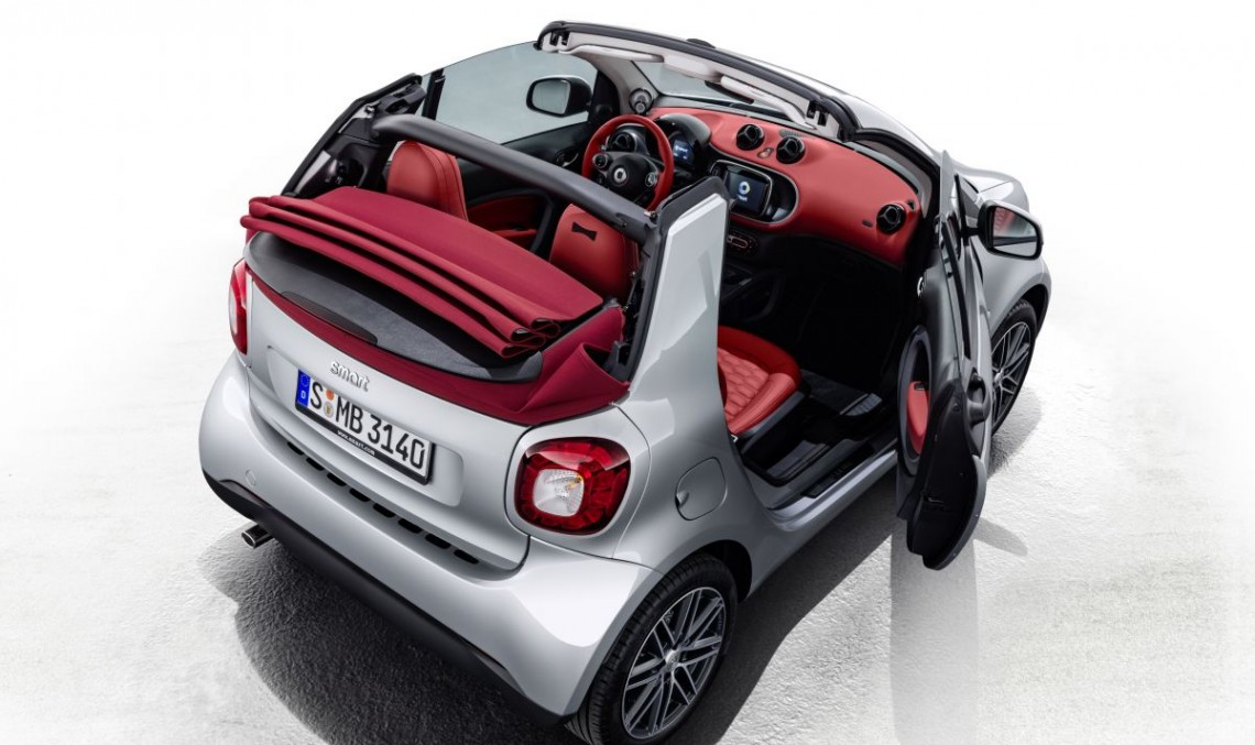 Smart Brabus Edition #2 Cabrio und Forfour Crosstown coming to Geneva