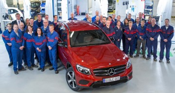 Made in Finland: Mercedes GLC assembly at Valmet has started