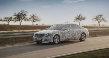 2017 Mercedes-Benz S-Class – First passenger ride on-board the semi-autonomous liner